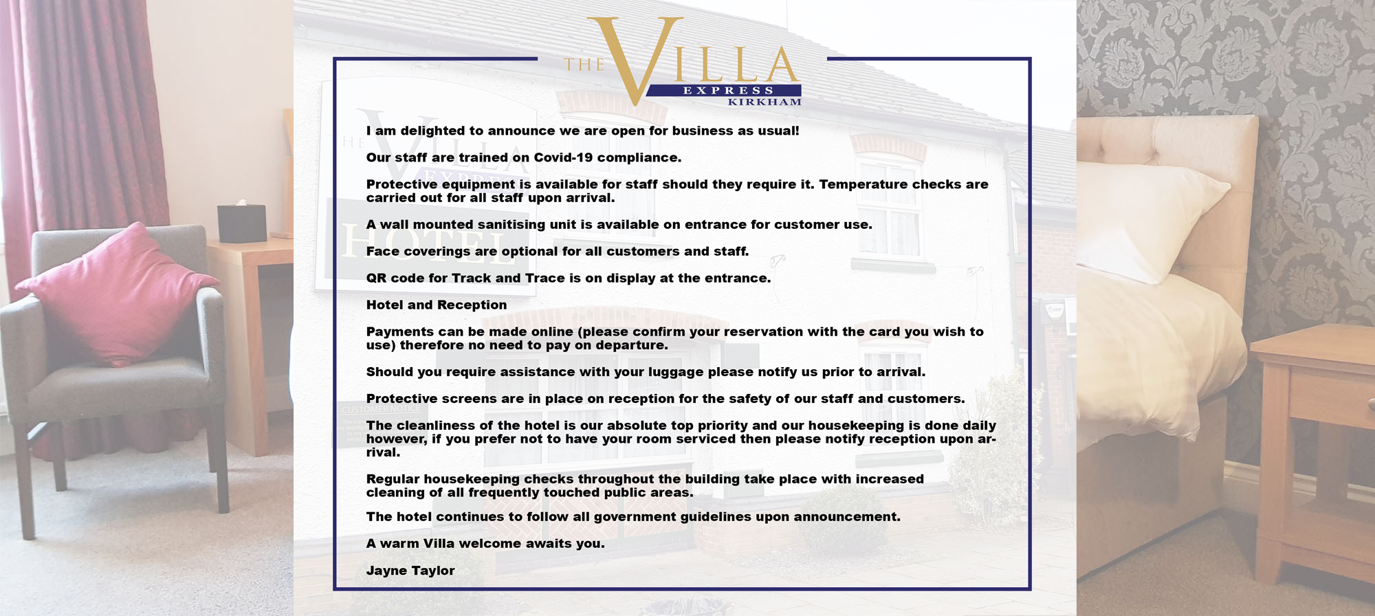 THE VIILLA EXPRESS – DV new